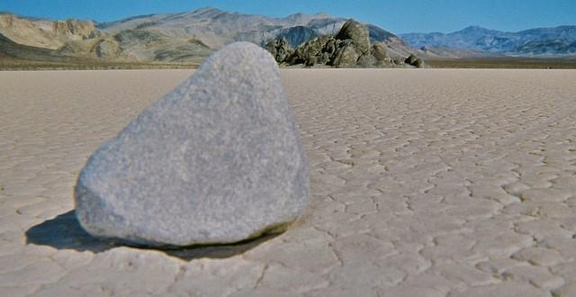 Racetrack Playa . Death Valley