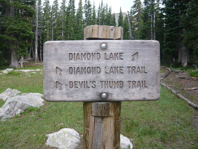 Diamond Lake . Nederland . Colorado