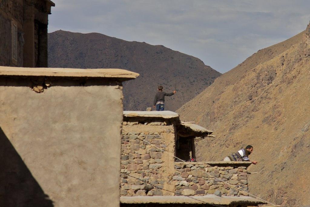 Atlas Mountains . Morocco