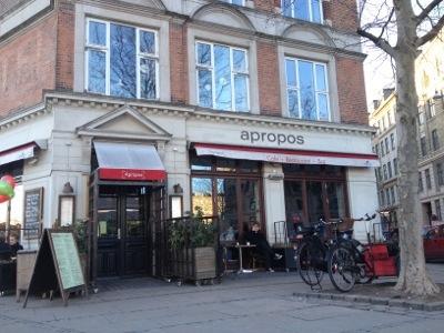 Cafe Apropos . Copenhagen