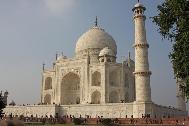 Taj Majal . Agra Fort