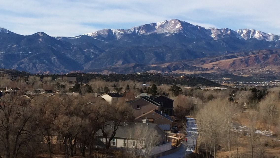 Pikes Peak . Colorado Springs