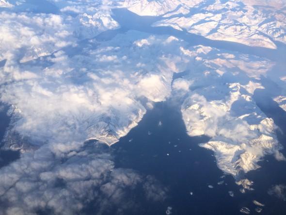 Above Greenland . © James Van Dellen