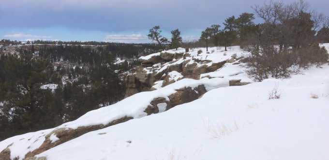 Castlewood Canyon State Park . Colorado