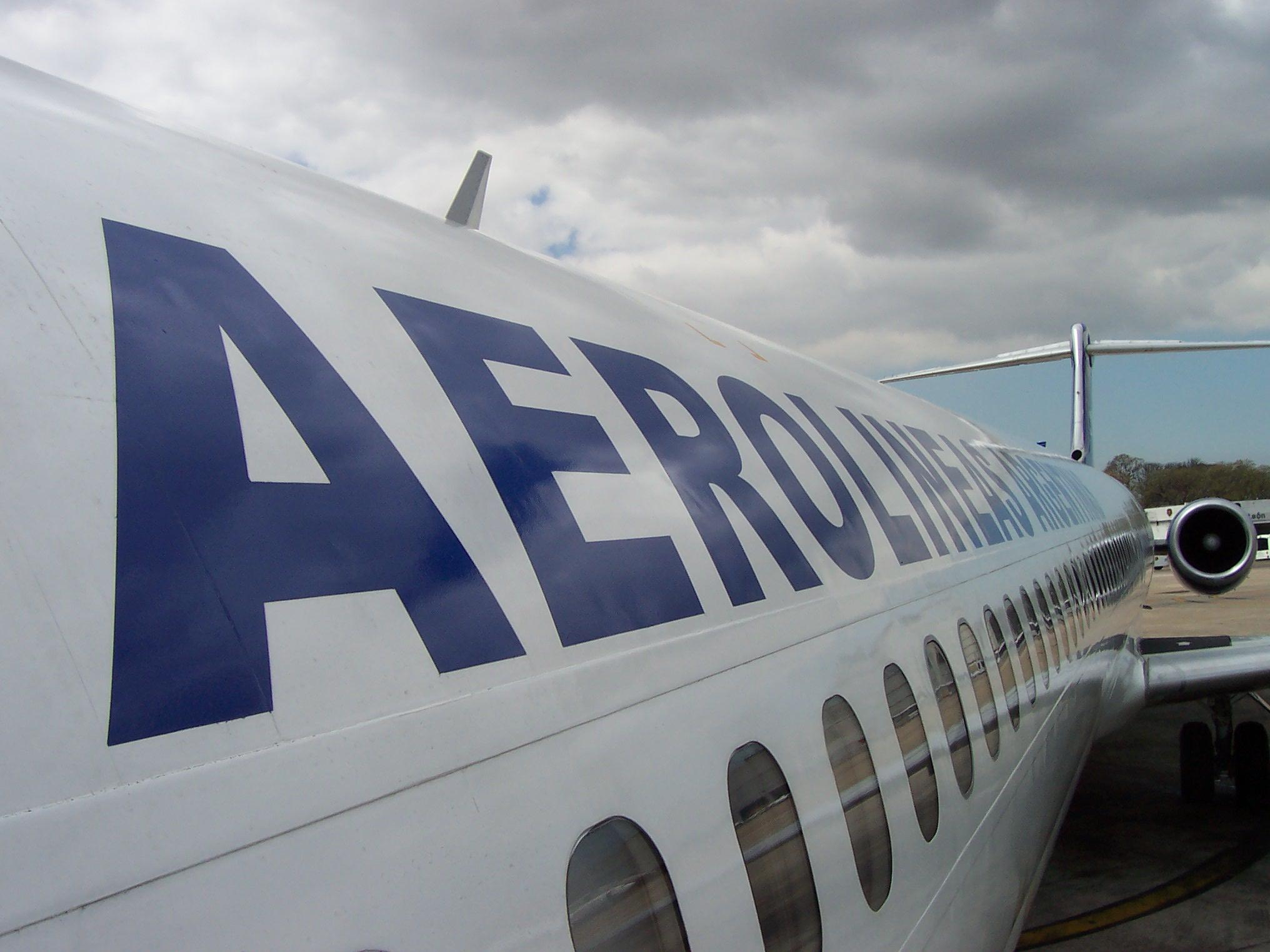 Aerolineas Argentinas . Puerto Iguazú