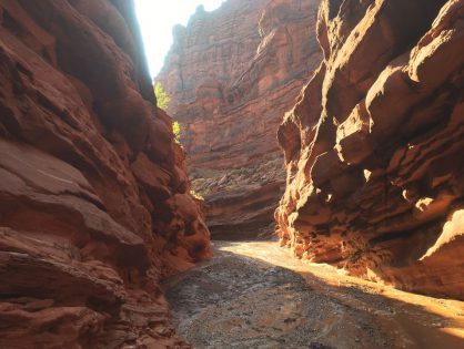 Moab . Utah