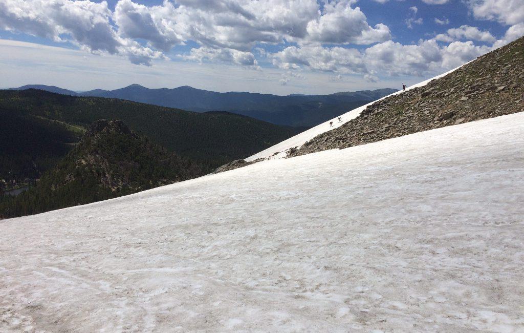St. Mary's Glacier . James Peak