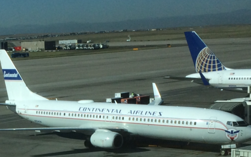 Continental Airlines Vintage Livery