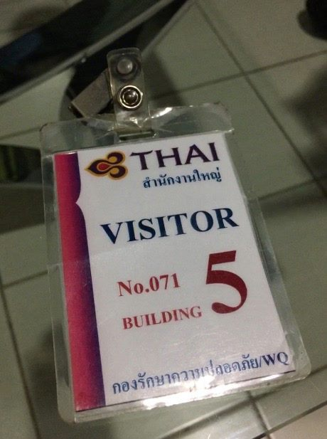 James Van Dellen . A380 Simulator . Thai Airways